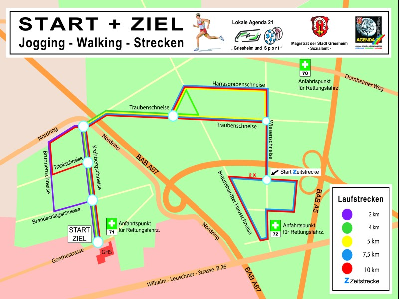 Fenster Griesheim joggingstrecken griesheim